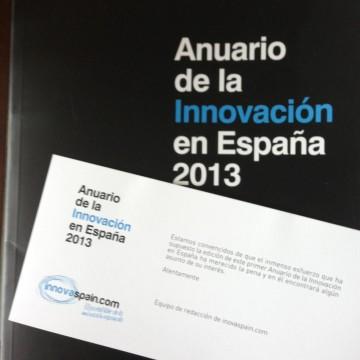 Portada del Anuario de la Innovación en España 2013