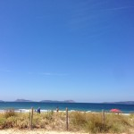 Playa de Samil de Vigo.