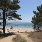 Playa de Viñó de Cangas.