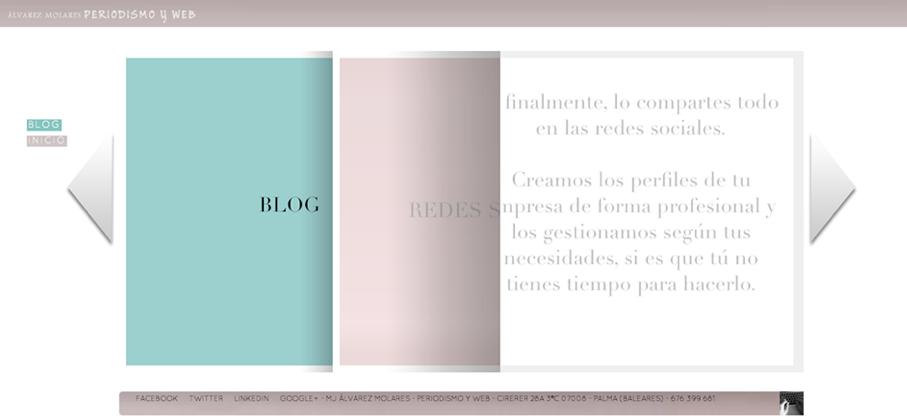 Estrategia online de Álvarez Molares Periodismo y Web