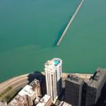 Desde el John Hancock Center se observa la inmensidad del Lago Michigan