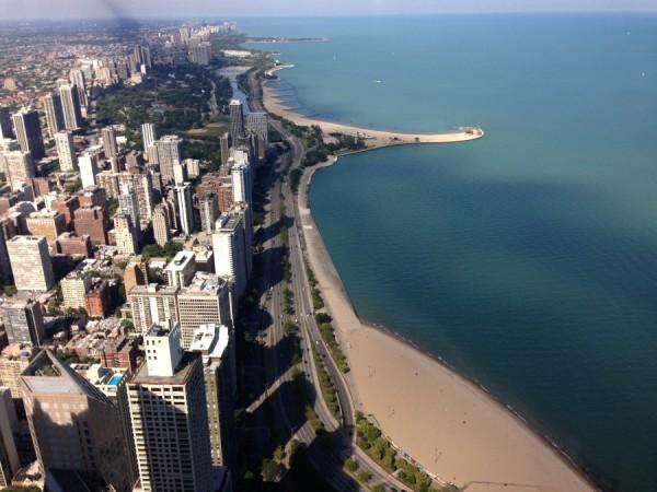 Playas y rascacielos conviven en Chicago