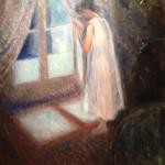 Edward Munch - La chica por la ventana