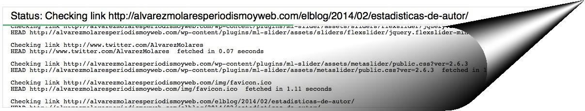 W3C, herramienta para localizar enlaces rotos.