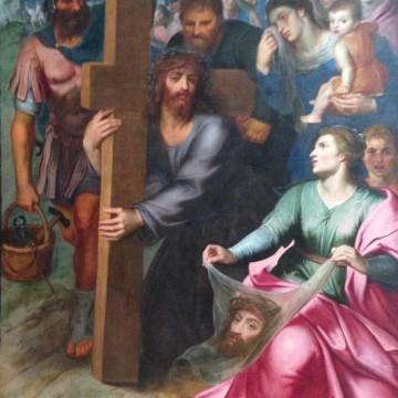 La rencontre du christ et de Véronique - Otto Vaenius