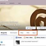 Nuevo diseño en Facebook