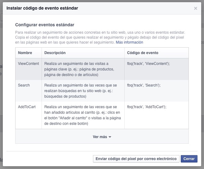 Píxel de Facebook