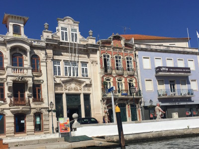 Edificios de Aveiro.